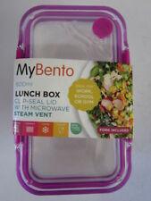 Porta alimentos de plástico de color principal rosa