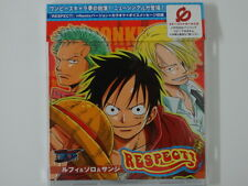 ONE PIECE CD RESPECT ANIME RECORD DISCO JAPAN ANIMATION CARTONI ANIMATI