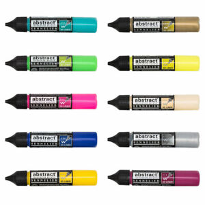 Sennelier Abstract Acrylic Paint 3D Outliners 27ml