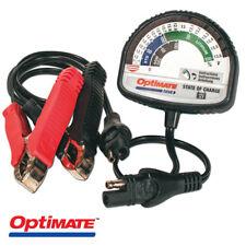 NEW TecMate OptiMate Battery Tester, 12V Lead-Acid & 12.8V/13.2V Lithium TS-127