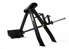 PowerGym Fitness Commercial Incline Lever Row / T Bar Row Plate Loaded Equipment