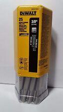 Dewalt Rotary Hammer Drill Bits 38 4 6 Rock Carbide Box Of 25 Dw5427