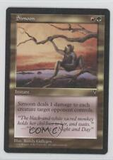 1997 Magic: The Gathering - Visions Booster Pack Base #NoN Simoon Magic Card 0b0