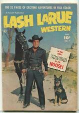 Lash LaRue Western  #7 VG- Shadow Of The Noose  Fawcett Publication CBX34