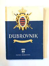 DUBROVNIK 1958 GUIDE PUTNIK ILLUSTRE CROATIE