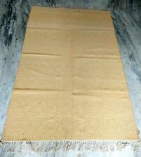 4X6 Natural Hand Geomatric Cotton Traditional Area Rug les tapis For Christms