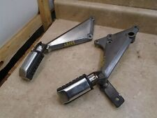 Kawasaki 750 KZ KZ750E KZ750-E Rear Footpegs & Brackets 1980 KB149