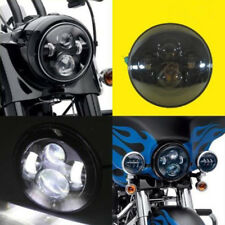 Motorcycle 7inch LED Projector Daymaker Headlight H4 Hi/Lo Beam Harley Led Light