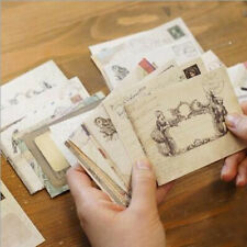 Mini Paper Ancient Envelope Vintage Home Office Stationery Craft Gift 12pcs