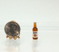 Dollhouse Miniature Handcrafted Miller Lite Beer Bottle