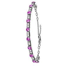 BREIL bracciale donna Rolling Diamonds con cristalli viola  Swarovski