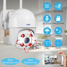 2MP Wireless Wifi IP Camera 1080P PTZ Outdoor Dome Security Camera Pan Tilt Cam