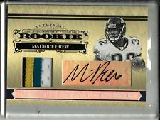 Maurice Jones-Drew 2006 National Treasures Autograph Game Jersey Patch RC #2/49