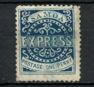 NNAO 141 BRITISH SAMOA 1877 USED PERF 12