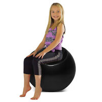 Outdoor Living Room Patio Night Club Bar Cocktail Kid Pouf Chair Ball Seat Black