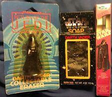 Star Wars Darth Vader Lot Soap Jedi Eraser Oral-B Toothbrush