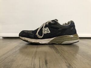 New Balance 993 Blue Grey US Mens Size 9 Womens Size 10.5 Made In USA