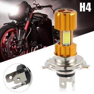 H4 18W 6000K 2000LM 3 COB Hi/Lo LED Headlight For Harley Street Glide