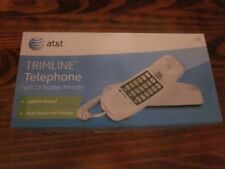 ATT Trimline Telephone with 13 Number Memory, Lighted Keypad and Mute Button
