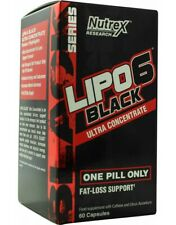 Nutrex Lipo 6 Ultra Concentrate- Black - 60 Capsules fat burner