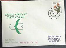 RSA FFC 1981 Sibasa to Pietersburg Venda Airlines
