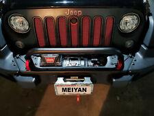 Bumper Grille & Winch Guard fits 07-18 Jeep Wrangler Rubicon Sahara 77072349