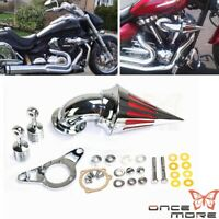 For Harley Softail Dyna Touring 2001-2009 Spike Air Intake Cleaner Filter Kit