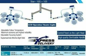 Double Quality Dome Star 105+105 Surgical OT Light Operation Theater LED Light