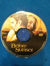 Before sunset dvd Disc Only, No Usps Tracking!