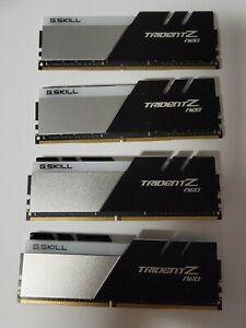 New G.SKILL Trident Z Neo 64GB (4x16GB) 288-Pin RGB DDR4 F4-3600C16Q-64GTZNC
