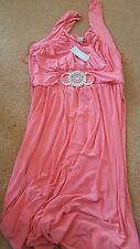 Beautiful Womens Salmon Dress by Liquid. Size 24-26