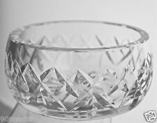 WATERFORD CRYSTAL CANDY/DECORATIVE BOWL QUILTED PATTERN GLASSWARE