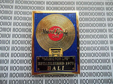 Hard Rock Cafe Bali - Music for Life - 30th Anniversary Gold Record Series Pin