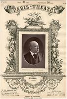 Lemercier, Paris-Théâtre, Henri-Polydore Maubant dit Maubant (1821-1902), acteur