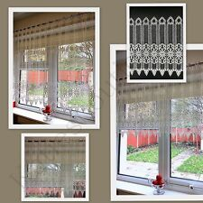 Cafe Net Curtain Guipiure Lace Ready To Hang Up Sold By The Metre