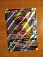 NM FULL ART Pokemon GUMSHOOS GX Card SUN and MOON Base Set 145/149 SM Ultra Rare