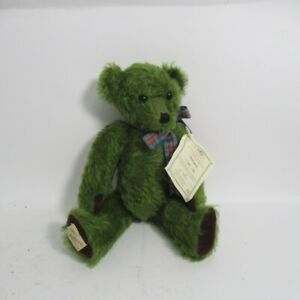 Dean's Collectors Club Teddy Bear Grahame Limited Edition Green w/ Tag #40 of 75