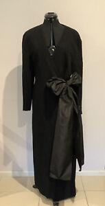 Vintage Carla Zampatti  Long  Wrap Formal Dress.   Size 12/14
