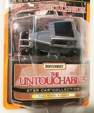 FORD MODEL A COUPE From THE UNTOUCHABLES ~ 1998 Matchbox Star Car Series ~ WORN