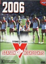 AFL SYDNEY SWANS 2006 Season Highlights DVD AUSTRALIAN RULES FOOTY BRAND NEW R4