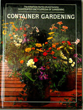 """BRAND NEW* """"Container Gardening~The American Horticultural Society"""" 1981 HCOVER"""