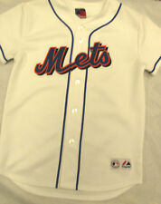 Majestic Boy's Medium New York NY Mets Jersey NEW