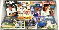 DON MATTINGLY ON COVER 1988-1994 LOT OF 9 DIFFERENT BASEBALL CARD MAGAZINES
