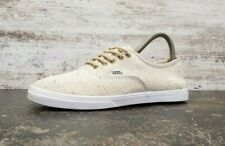 Womens Vans Authentic Low Profile Athletic Shoes Sz 6 Used TB4R Beige Twill