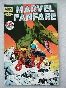 Marvel Fanfare  #1  featuring Spider-Man & Daredevil. NM