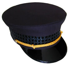 "Black Railroad Hat ""Conductor Passenger"" all sizes available"