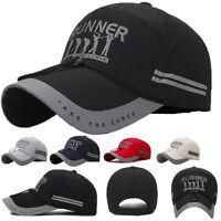 Runner Men Women Outdoor Sport Baseball Hat Running Visor Quick drying Cap