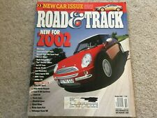 2002 Acura RSX Type S Road and Track Magazine
