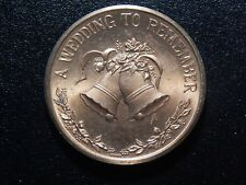 A WEDDING TO REMEMBER FROM THIS DAY FORWARD TOKEN!  WW746UQT
