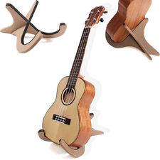 Wooden Foldable Stand Bracket Holder For Guitar Ukulele Violin Mandolin Banjo